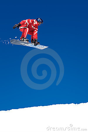 Free Skier Stock Photography - 5043092