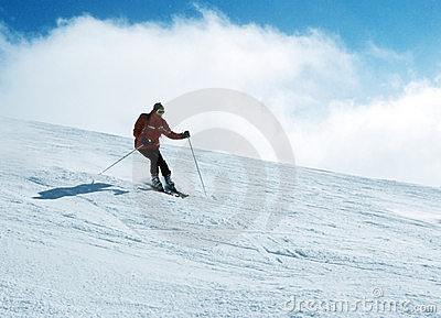Skier in action 7