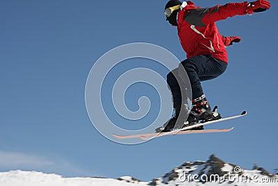Skier jumper
