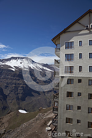 Free Skiing Centre Of Chile Stock Photos - 46522583