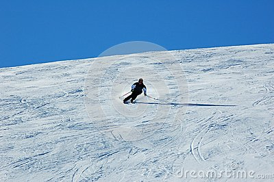 Skiing in the Davos