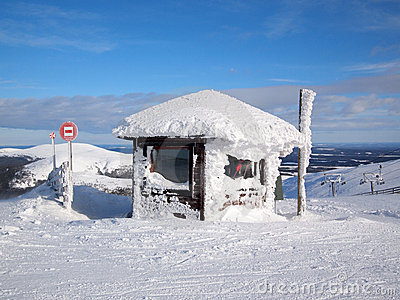 Skiing in Lapland