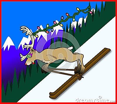 Skiing_reindeer