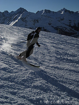 Skiing in Tirol / Tyrol