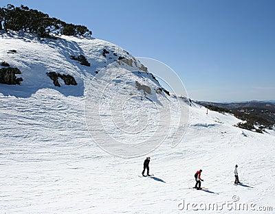 Skiing in Victoria, Australia