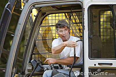 Skilled heavy equipment operator