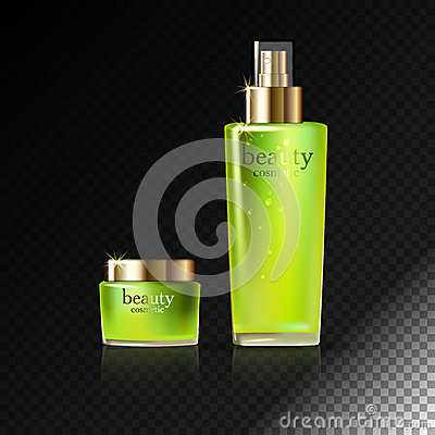 Skin Care Cosmetic Vector Illustration