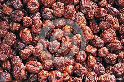 Skin dark red Chinese dates