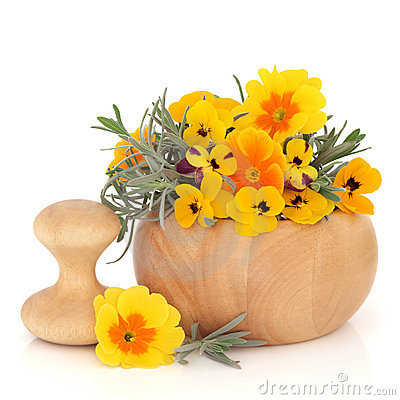 Skincare Herbs and Flowers