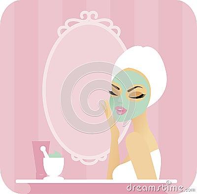 Skincare series-Mask