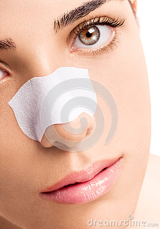 Skincare Strip on Nose