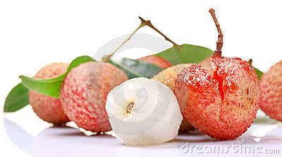 Skinless litchi