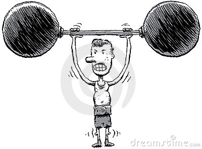 Skinny Strongman
