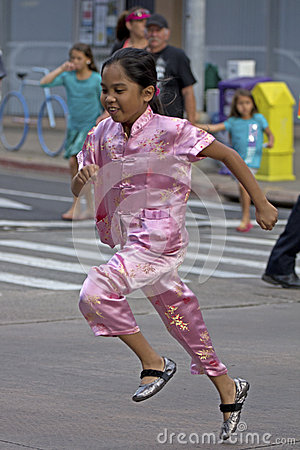 Skip the crosswalk Editorial Stock Photo
