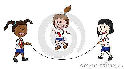 Skipping Children
