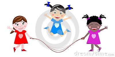 Skipping the rope