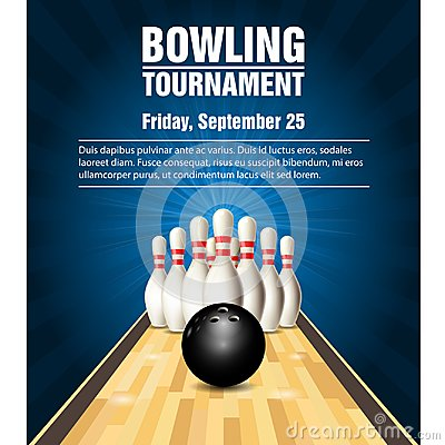 Free Skittles And Bowling Ball On Bowling Court Stock Photos - 103469303