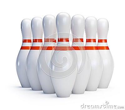 Skittles bowling