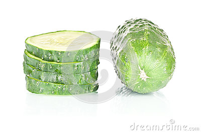 Skivad gurka