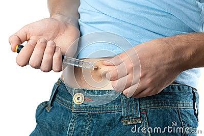 Skjuten insulin