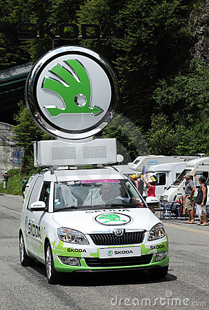 Skoda car Editorial Image