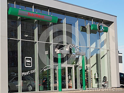 Skoda dealership Editorial Image