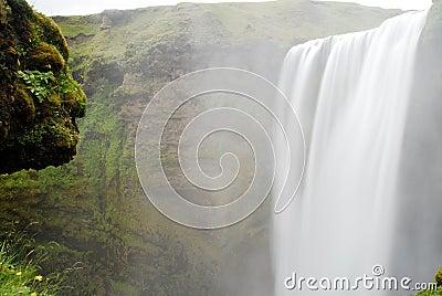Skogafoss-Wasserfall, Island