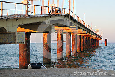Skorpilovski bridge, Bulgaria Editorial Stock Image
