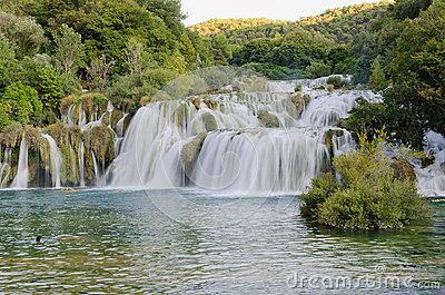 Skradinski Buk - waterfall in Krka National Park i