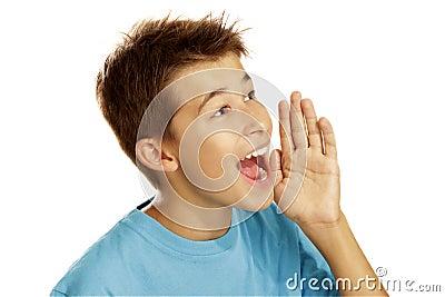Skrika för pojke