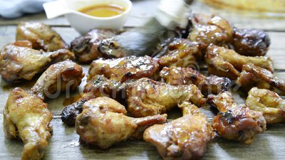 Skrzydła kurczaka bawole zbiory