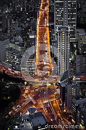 Skrzyżowanie Tokyo