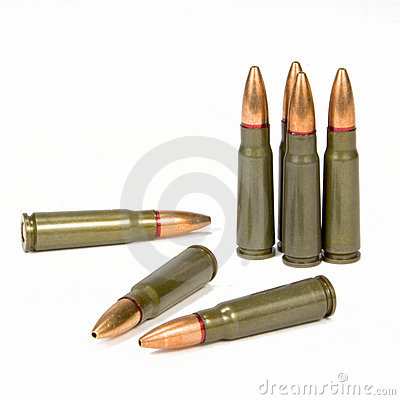 SKS Assault Rifle Bullets