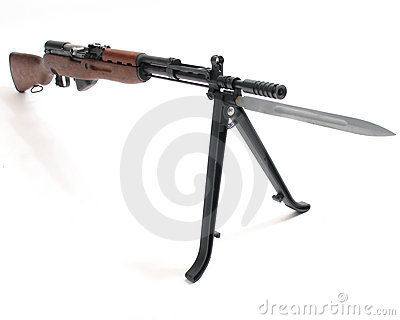 SKS automatic assault rifle