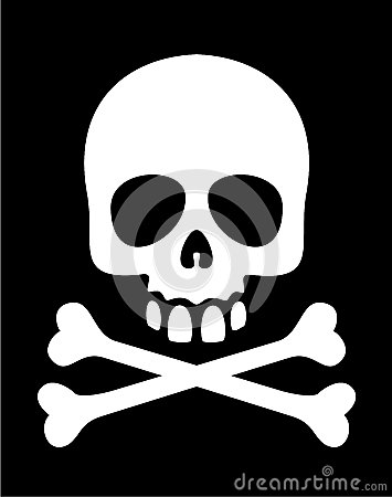 Skull And Crossbones Stock Vector - Image: 44445054