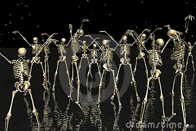 Skull dance Thriller.