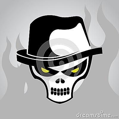 Skull Head Clip Art