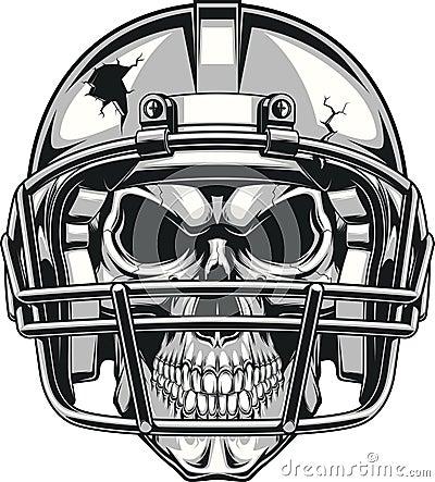 Free Skull In Helmet Royalty Free Stock Images - 60147369