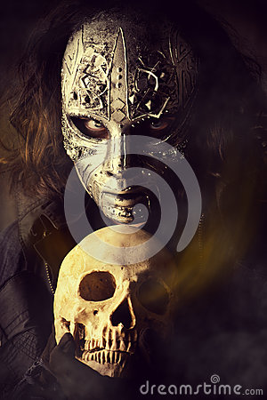 Free Skull Man Stock Photo - 53235480