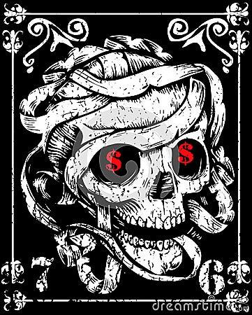 Free Skull Mummy Royalty Free Stock Photo - 48769065