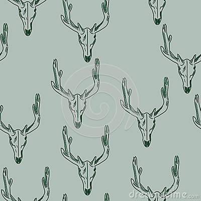 Free Skull Of A Deer Texture Royalty Free Stock Image - 44193886