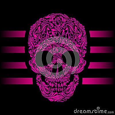 Free Skull Pattern Stock Image - 42220521