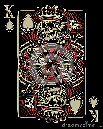 Free Skull Playing Card Royalty Free Stock Photos - 67508858