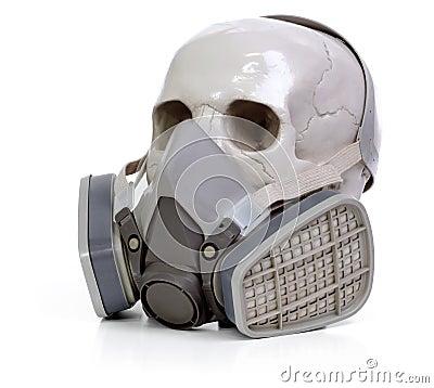 Skull and respirator