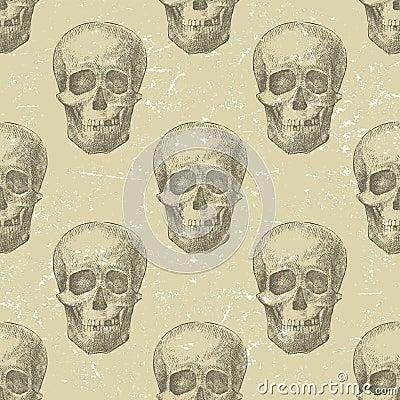 Skull seamless