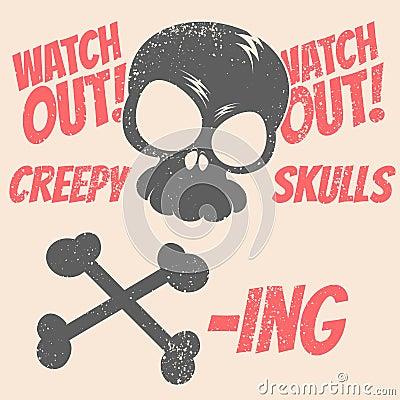Skull warning