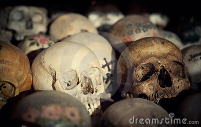 Skulls in a Bone House