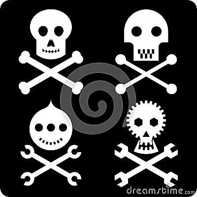 Skulls (vector)