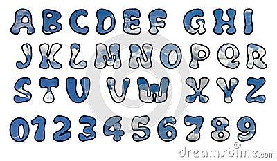 Sky alphabet.