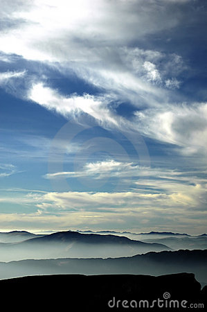 Free Sky And Mountains Stock Photos - 39733